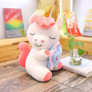 Holding Star Unicorn Plush - 35Cm / 4