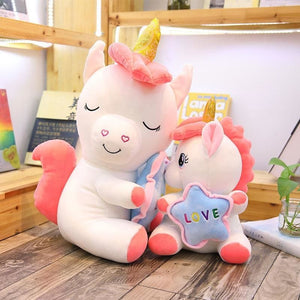Holding Star Unicorn Plush