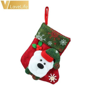 Lovely Christmas Stockings Socks - Bear