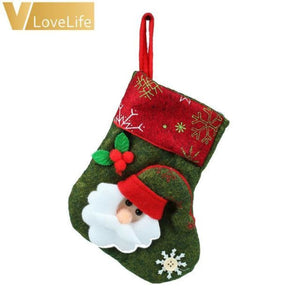 Lovely Christmas Stockings Socks - Santa
