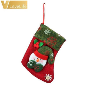 Lovely Christmas Stockings Socks - Snowman