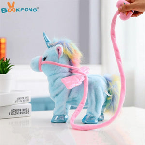Lovely Electric Walking Unicorn Plush