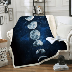 Moon Eclipse Changing Blanket