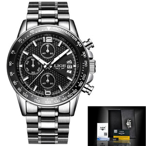Sport Stainless Steel Watch