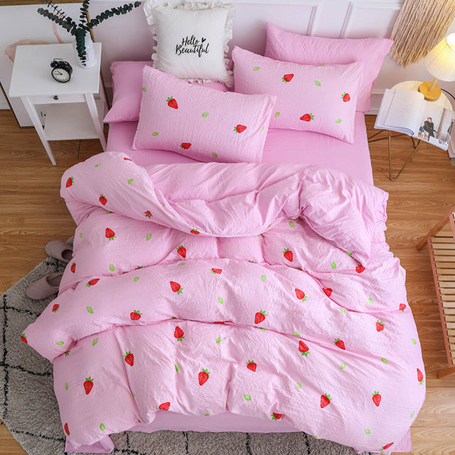 Strawberry Bedding Set