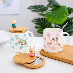 Creative Cartoon Animal Coffee Mug
