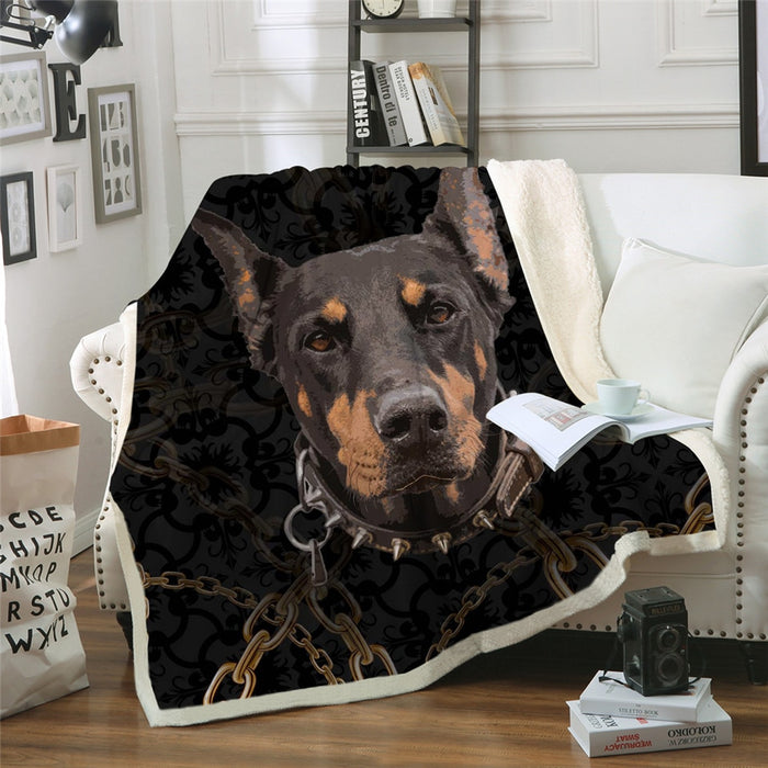 Doberman Blanket