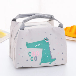 Cartoon Animal Lunch Bag