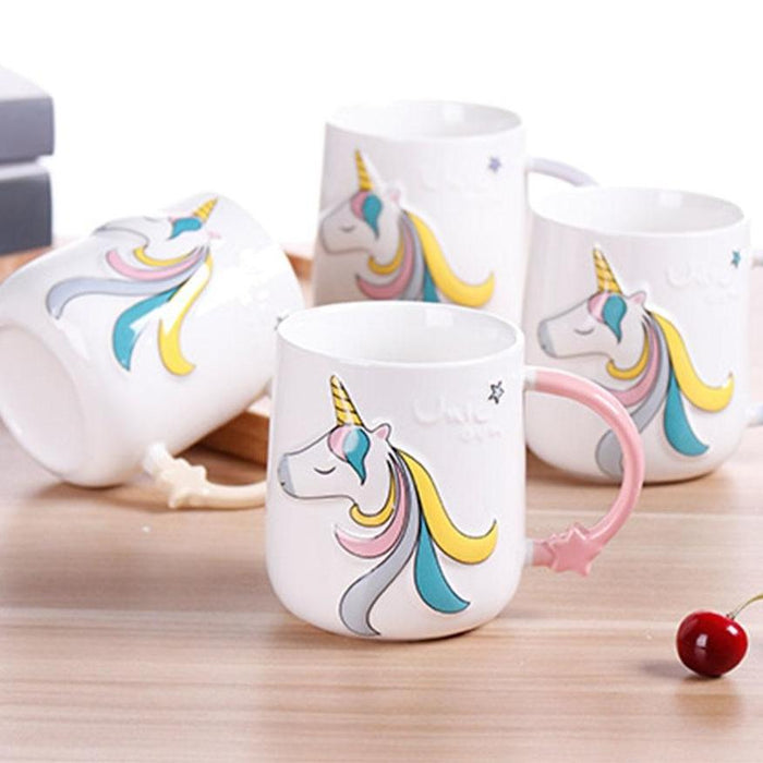 Cute Unicorn Ceramic Mug
