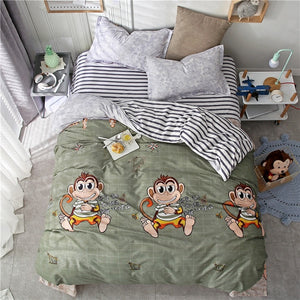 Monkey Bedding Set