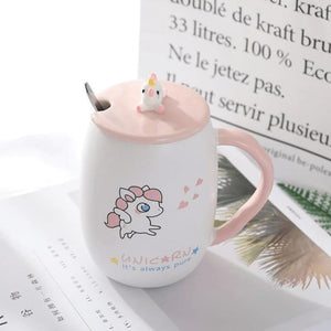 Sooo Cute Unicorn Coffee Mug - Love
