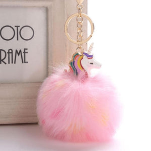 Unicorn Keychain - 1