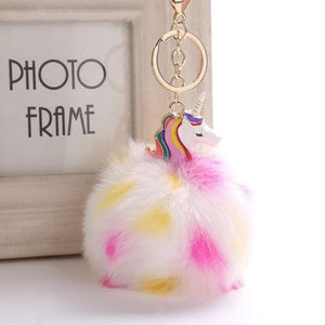 Unicorn Keychain - 2