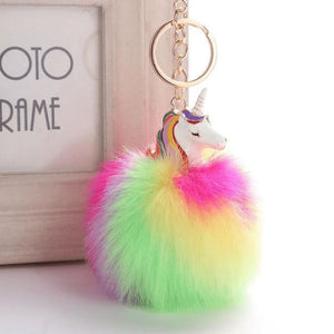 Unicorn Keychain - 5