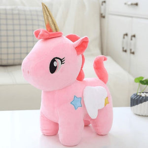 Unicorn Plush Toy - Pink