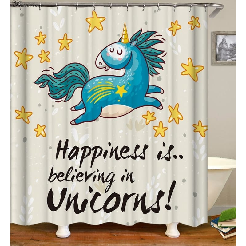 Unicorn Shower Curtain BOVA Market