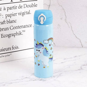 Unicorn Water Bottle - Blue 1