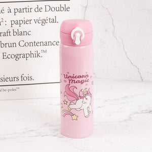 Unicorn Water Bottle - Pink 2