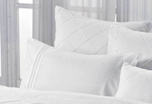 Lamere White Quilt Cover Set