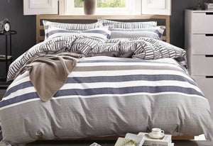 Luxton Milton quilt cover set / doona cover set in King / Queen sizes
