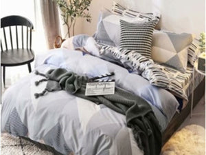 Luxton Ashley Quilt Cover Set in Queen/ King Size