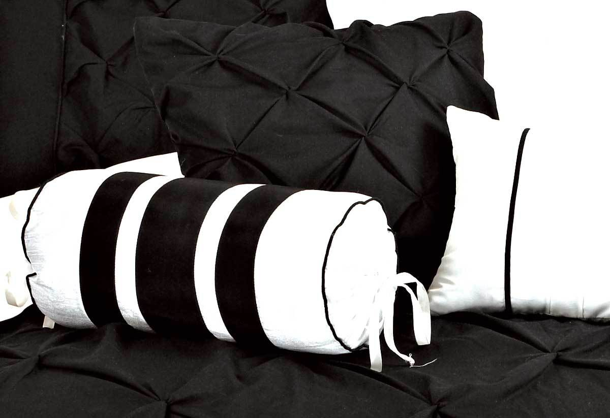 Fantine Black Quilt Cover Set