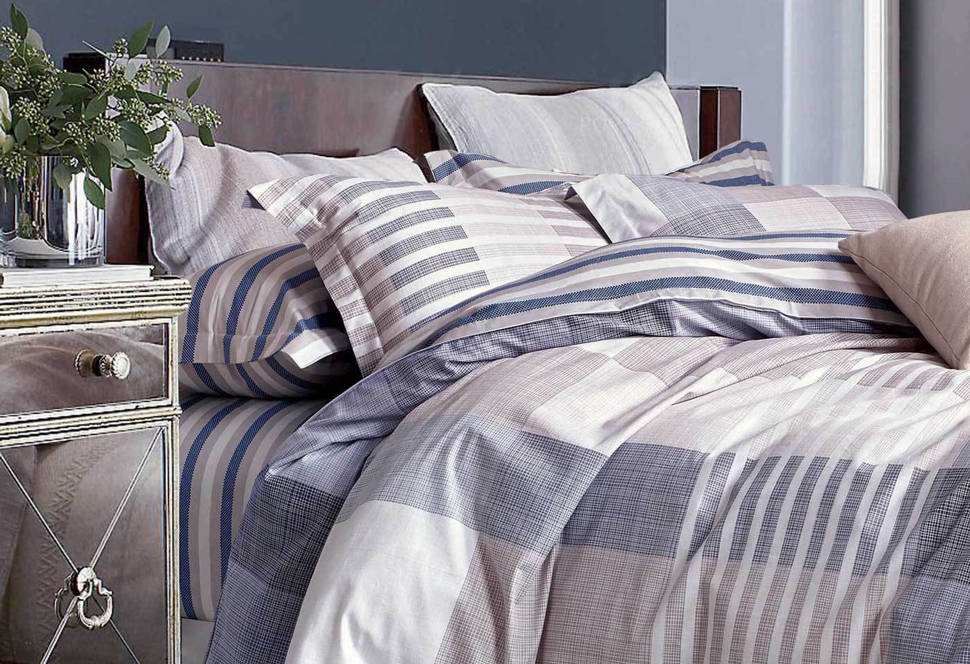100% Cotton Luxton Rafles quilt cover set / doona cover set