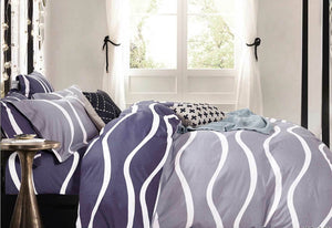 Marley Wave quilt cover set