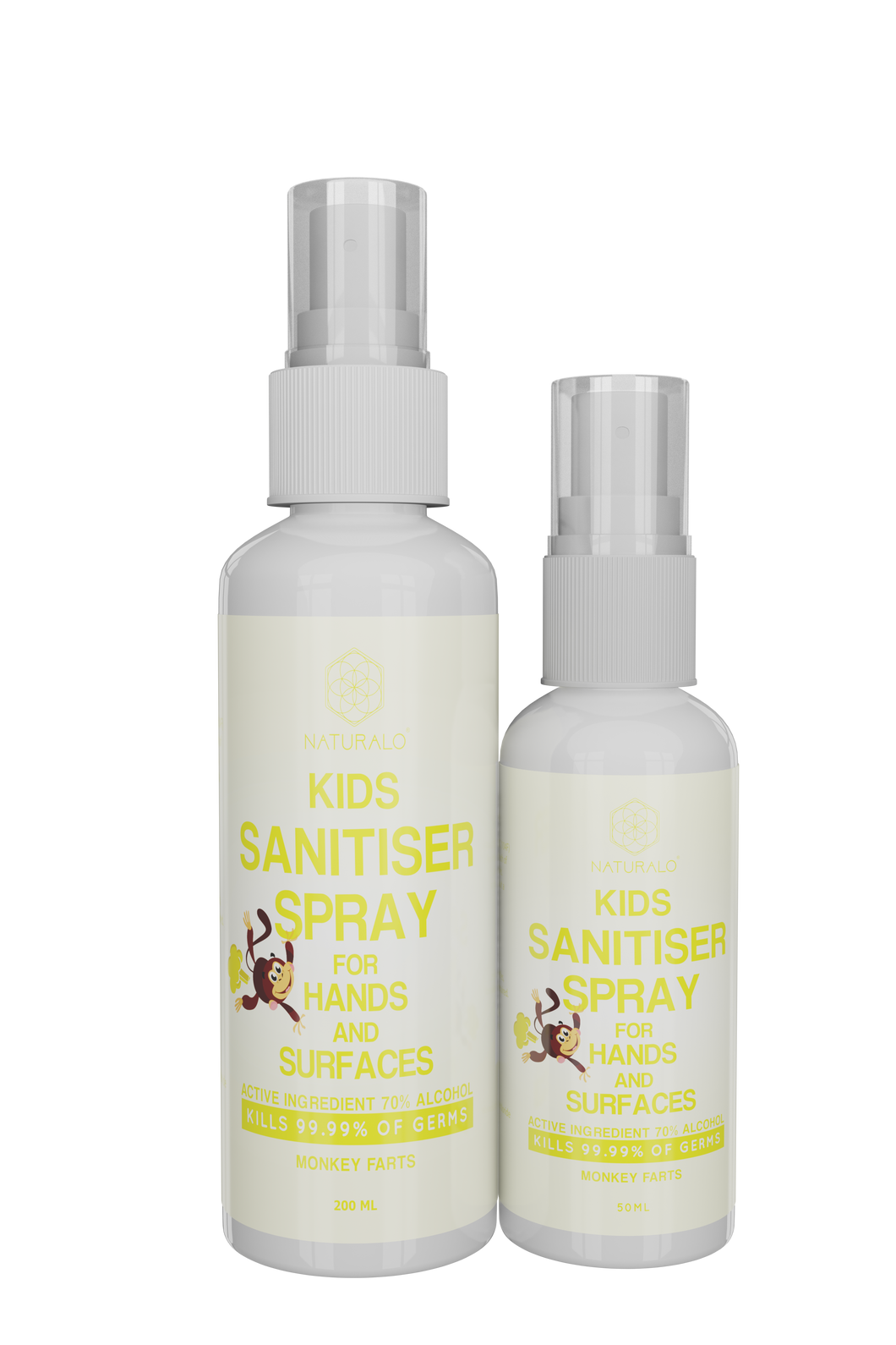 KIDS MONKEY FARTS SANITISER