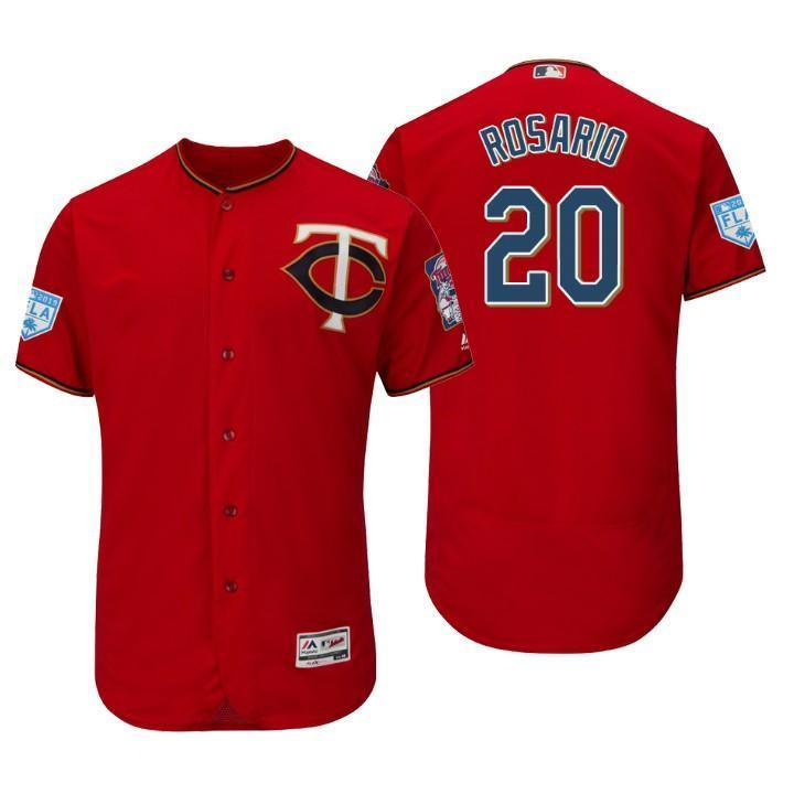 sports shoes 22250 9036d Eddie Rosario Minnesota Twins 2019 Spring Training Baseball Player Jersey