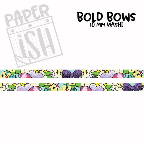 Bold Bows 10 mm Washi