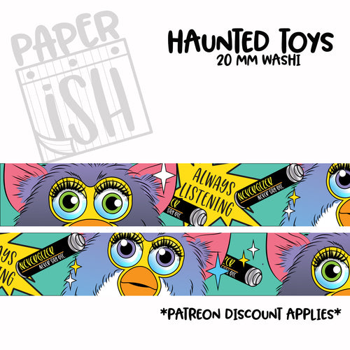 Haunted Toys 20mm Washi