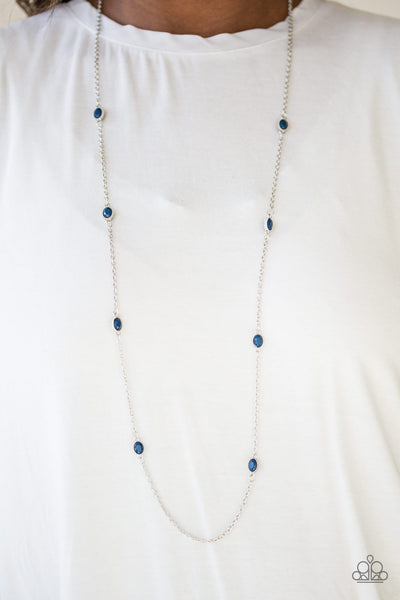 Paparazzi Accessories - Paparazzi Necklace - In Season - Blue - Necklaces
