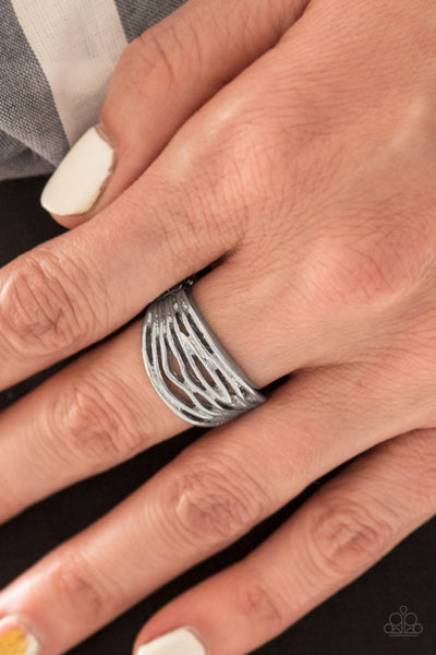 Paparazzi Accessories - Paparazzi Ring - Rip Current - Silver - Rings