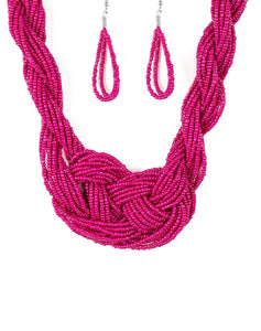 "Paparazzi Accessories - Paparazzi ""A Standing Ovation"" - Pink - Necklaces"