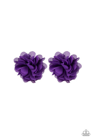 Paparazzi Accessories - Paparazzi Hair Accessories - Basket Full of Posies - Purple - Hair Accessories