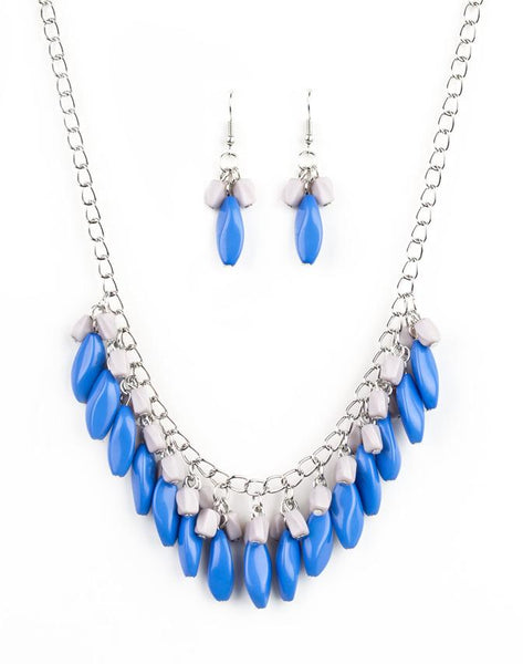 "Paparazzi Accessories - Paparazzi ""Bead Binge"" - Blue - Necklaces"