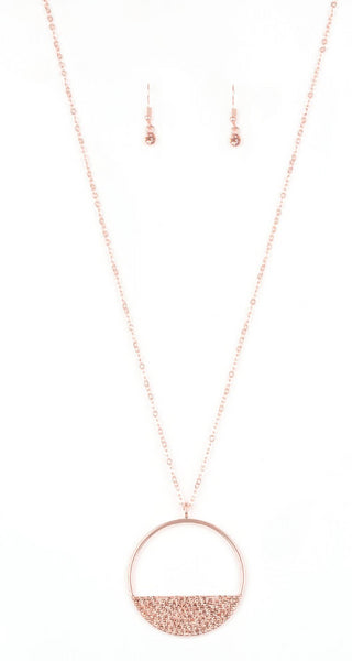 "Paparazzi Accessories - Paparazzi ""Bet Your Bottom Dollar"" - Copper - Necklaces"