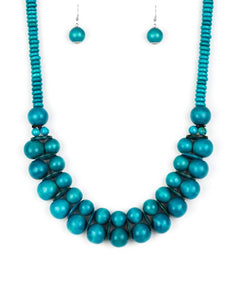 "Paparazzi Accessories - Paparazzi ""Caribbean Cover Girl"" - Blue - Necklaces"