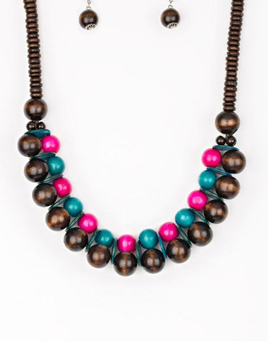 "Paparazzi Accessories - Paparazzi ""Caribbean Cover Girl"" - Multi - Necklaces"
