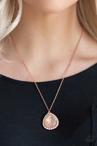 "Paparazzi Accessories - Paparazzi ""Come Of AGELESS"" - Copper - Necklaces"