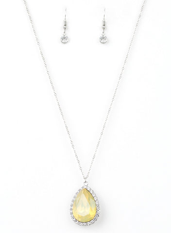 Paparazzi Accessories - Come Of AGELESS - Yellow - Necklaces