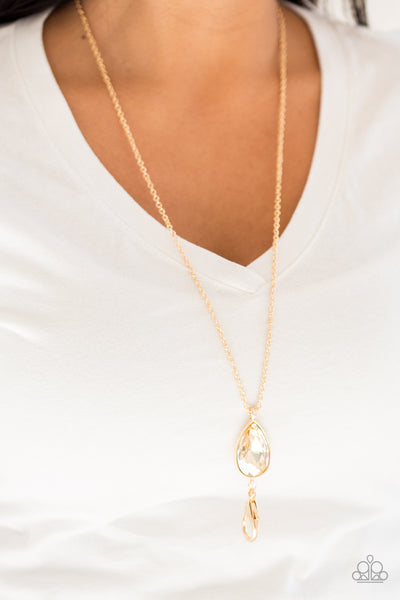 Paparazzi Accessories - Paparazzi | Elite Shine - Gold - Necklaces