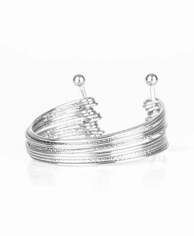 Paparazzi Accessories - Endlessly Empress - Silver - Bracelets