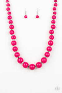 "Paparazzi Accessories - Paparazzi ""Everyday Eye Candy"" - Pink - Necklaces"
