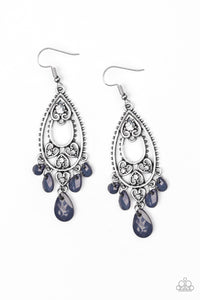 "Paparazzi Accessories - Paparazzi Earring - ""Fashion Flirt"" - Blue - Earrings"