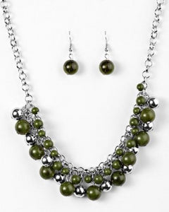 Paparazzi Accessories - For The Love Of Fashion - Green - Necklaces