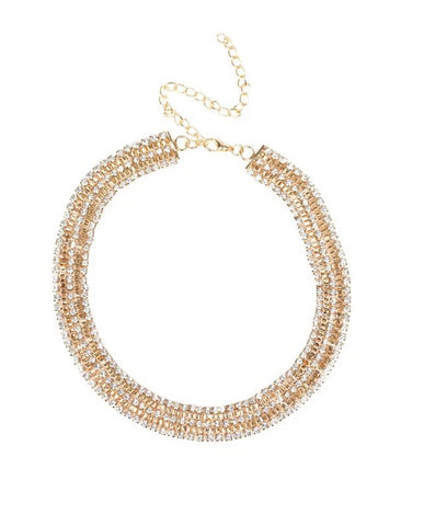 "Paparazzi Accessories - Paparazzi ""Full REIGN"" - Gold - Necklaces"