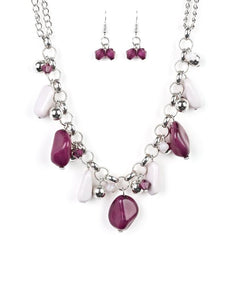 "Paparazzi Accessories - Paparazzi ""Grand Canyon Grotto"" - Mutli - Short necklace"
