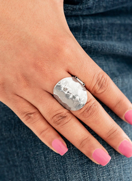"Paparazzi Accessories - Paparazzi ""Hit The BRIGHTS"" - Silver - Rings"